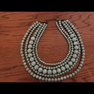 Green BaubleBar Globe necklace